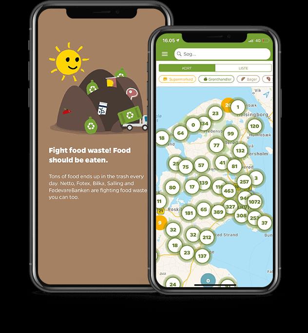 Salling Group Food Waste Reduction App Screenshot