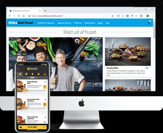 Bilka and føtex Grow Food E-commerce Screenshot